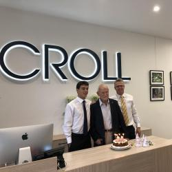Chairman of the Board Turns 90 - 3 Croll Generations